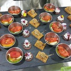 Salade de tomates d'antan