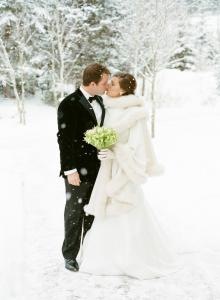 mariage, hiver